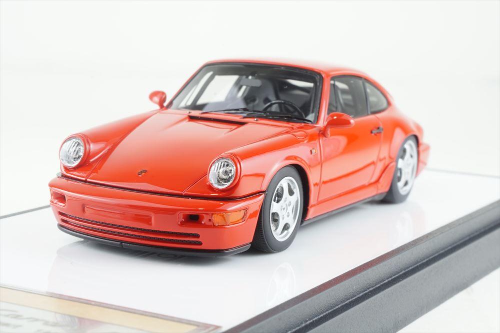 ヴィジョン 1/43 ポルシェ 911 964 カレラ RS クラブスポーツ 1992 ガーズレッド 完成品ミニカー VM139E