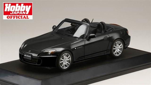 ホビージャパン 1/18 ホンダ S2000 AP1-200 ベルリナブラック 完成品ミニカー HJ1810BK