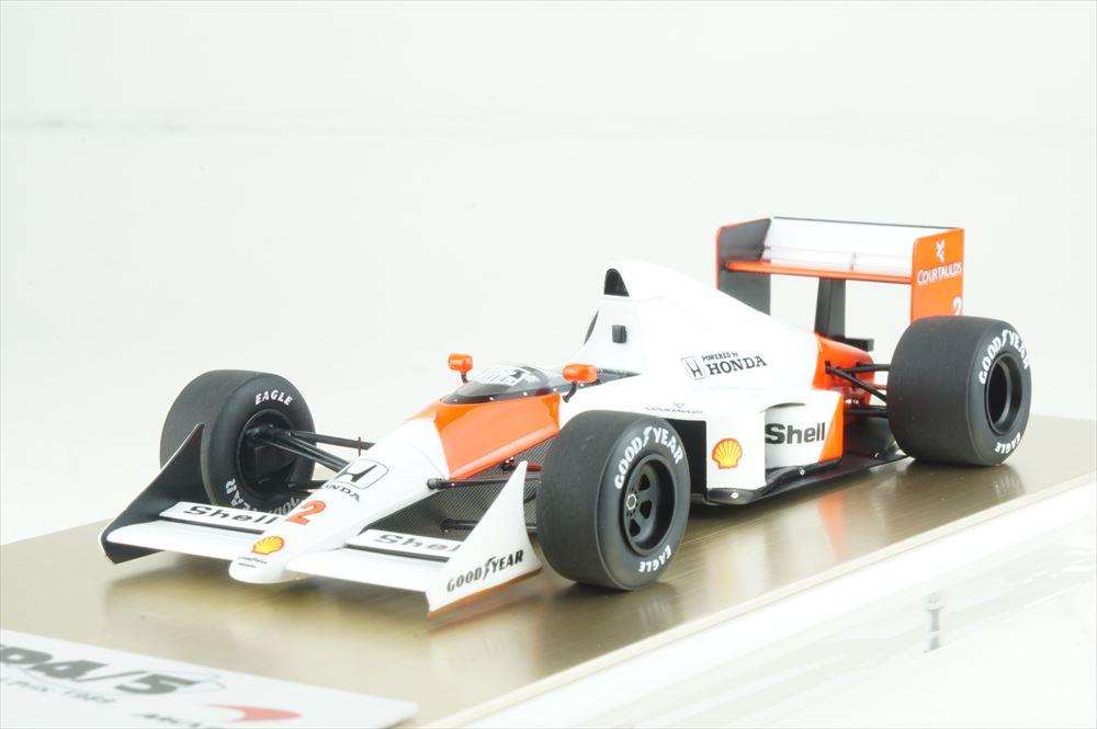 アイドロン フォーミュラ 1/43 マクラーレン ホンダ MP4/5 No.2 1989 F1 モナコGP A.プロスト 完成品ミニカー FE023B