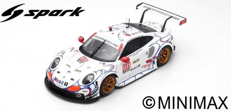 【予約】 スパーク 1/12 ポルシェ 911 RSR No.911 ポルシェ GT 2018 GTLM プチ ル・マン ウィナー P.ピレ/N.タンディ/F.マコヴィッキィ 完成品ミニカー 12S015