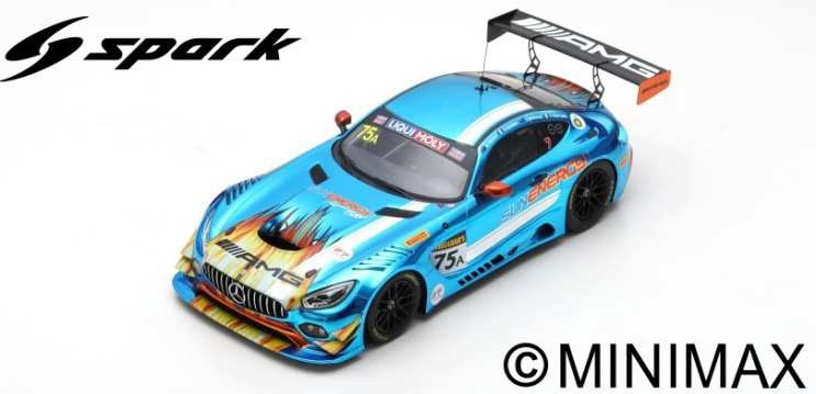 【予約】 スパーク 1/18 メルセデス-AMG GT GT3 No.75 サンエナジー1 2018 バサースト12時間 2位 K.ハブル/T.ヴォーチェ/and more 完成品ミニカー 18AS007