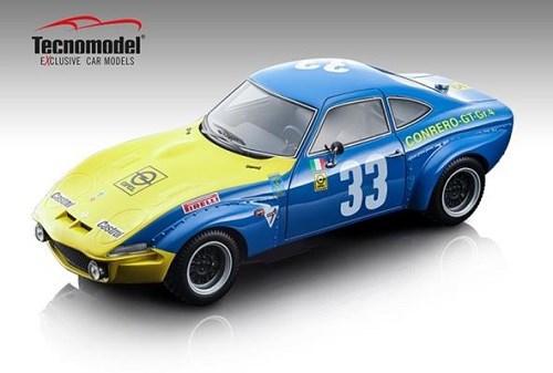 【予約】 テクノモデル 1/18 オペル GT1900 No.33 1972 タルガ フローリオ R.ファチェッティ/M-C.ボーモント 完成品ミニカー TM18-133B