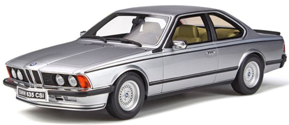 【予約】 オットーモビル 1/18 BMW 635 CSI E24 シルバー 完成品ミニカー OTM313