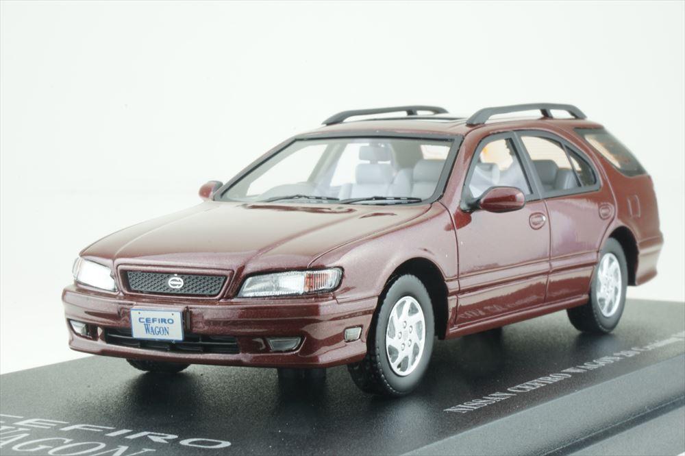 土日出荷可能 カム 1 43 信用 日産 セフィーロ ディープワインレッドメタリック WA32 完成品ミニカー ワゴン C43081 1997 数量限定