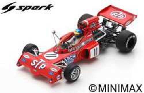 【予約】 スパーク 1/43 マーチ 721X No.11 1972 F1 ベルギーGP R.ピーターソン 完成品ミニカー S7164