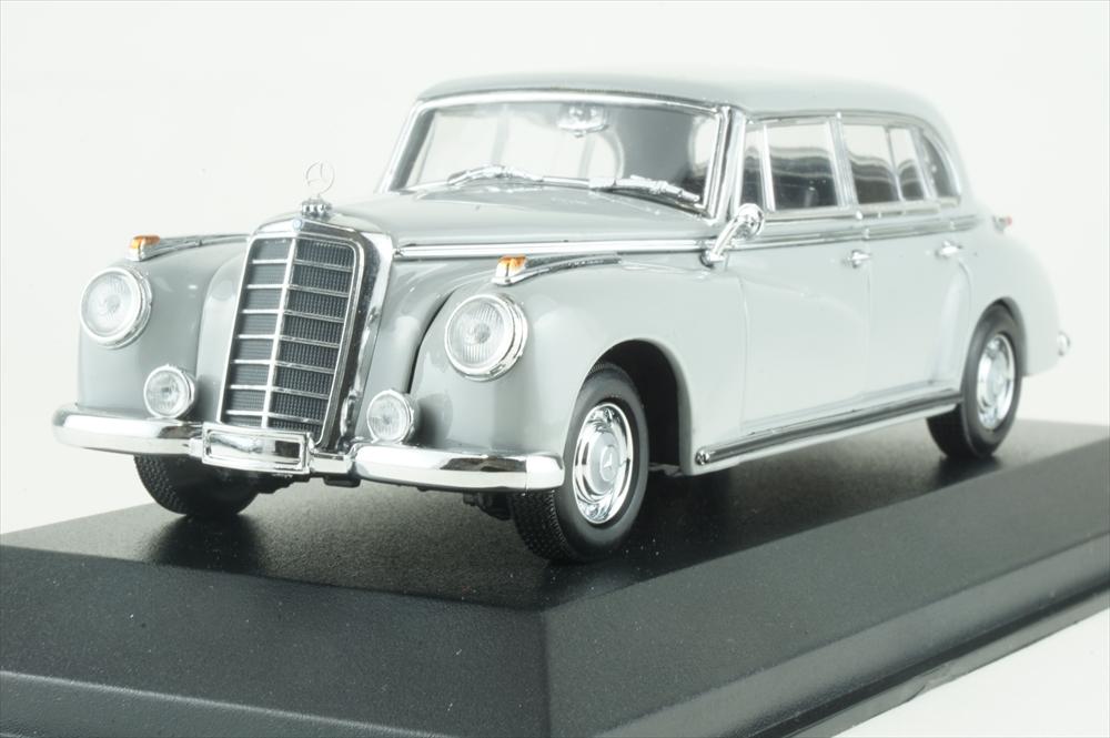 マキシチャンプス 1/43 メルセデス・ベンツ 300 1951 グレー 完成品ミニカー 940039061