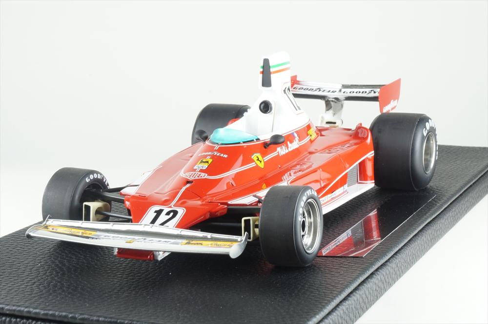 トップマルケス 1/18 フェラーリ 312T No.12 1975 F1 N.ラウダ 完成品ミニカー GRP026A