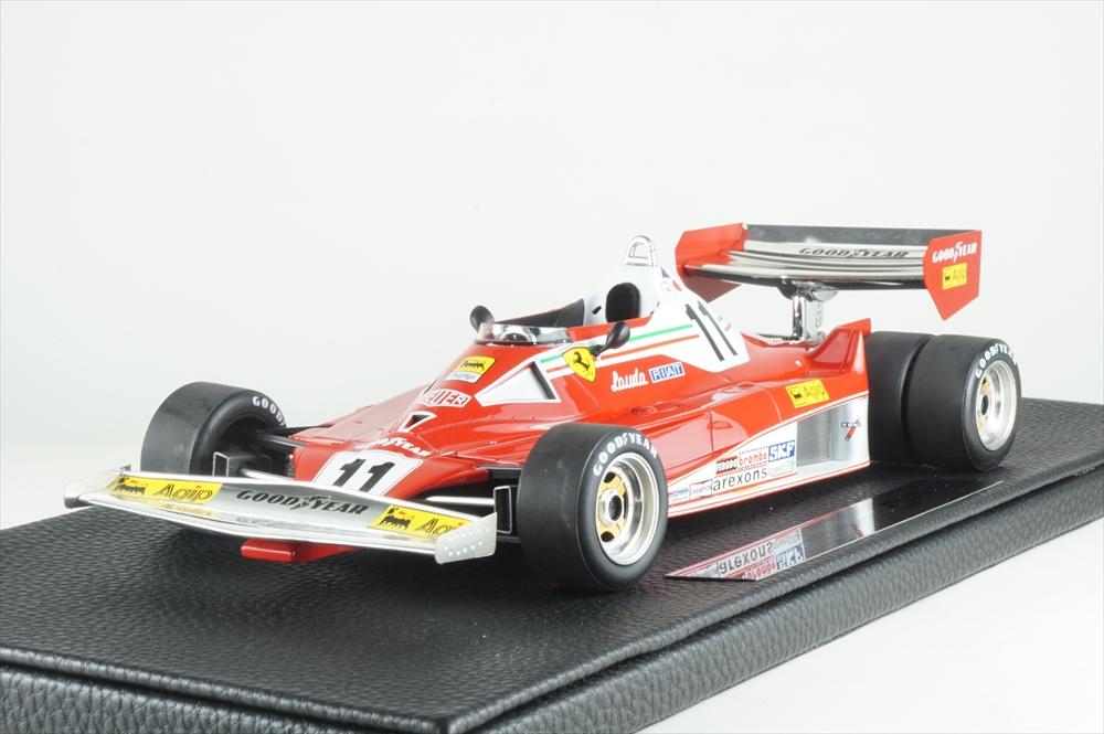 トップマルケス 1/18 フェラーリ 312 T2 1977 No.11 ツインホイール N.ラウダ 完成品ミニカー GRP014F