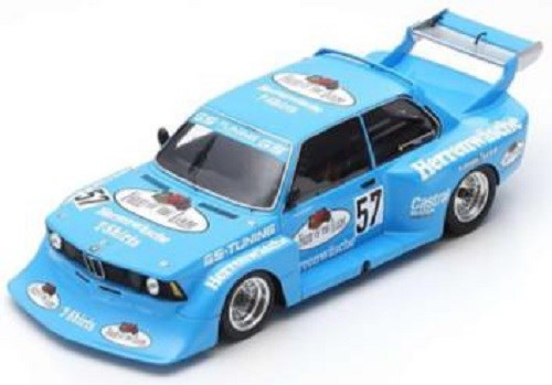 【予約】 スパーク 1/18 BMW 320 No.57 1978 DRM グループ5 ゾルダー M.ヘッティンガー 完成品ミニカー 18S411