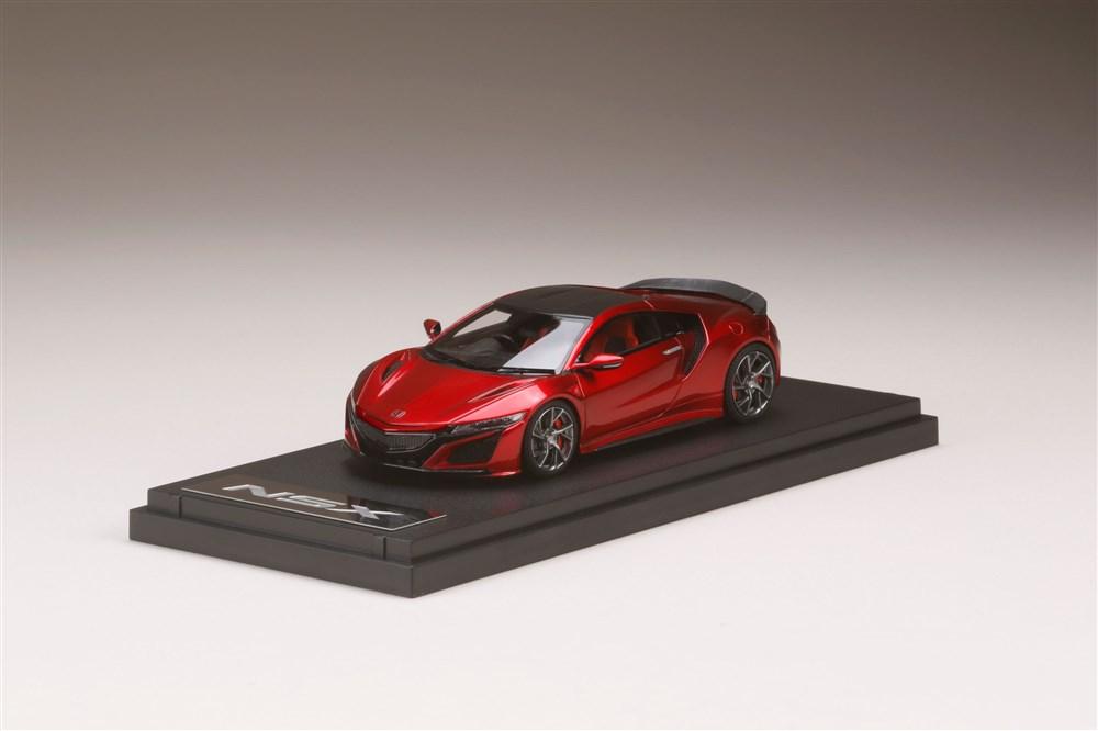 【予約】 MARK43 1/43 ホンダ NSX NC1 2020 オプション装着車 バレンシアレッドパール 完成品ミニカー PM43137CMR