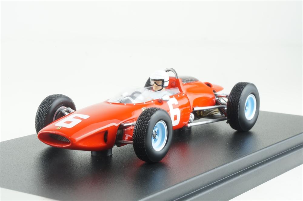 ルックスマート 1/43 フェラーリ 156 No.6 1964 F1 イタリアGP L.スカルフォッティ 完成品ミニカー LSRC032