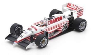 【予約】 スパーク 1/43 AGS JH22 No.14 1987 F1 イギリスGP P.ファブレ 完成品ミニカー S7235