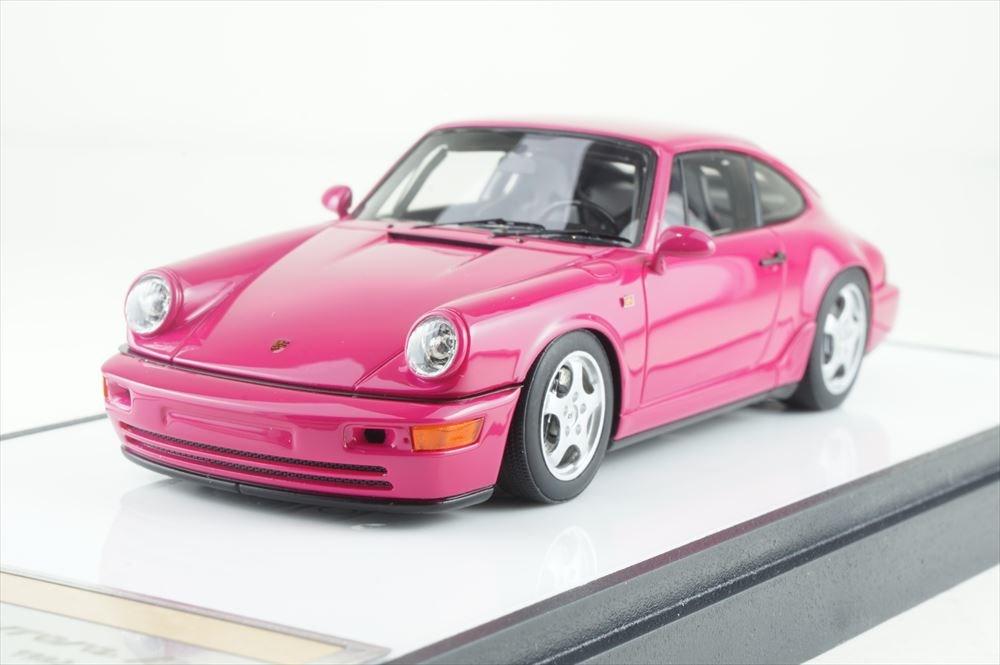 ヴィジョン 1/43 ポルシェ 911 964 カレラRS クラブスポーツ 1992 ルビーストーンレッド【取寄対応】 完成品ミニカー VM139A