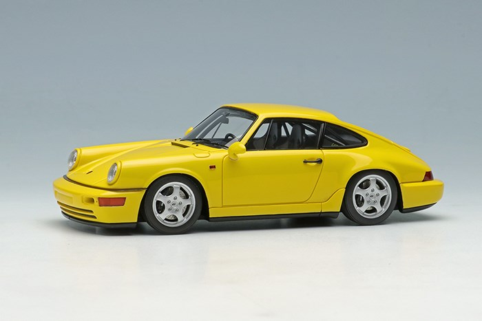 ヴィジョン 1/43 ポルシェ 911 964 カレラRS クラブスポーツ 1992 スピードイエロー【取寄対応】 完成品ミニカー VM139G