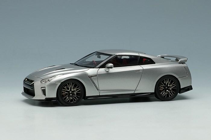 アイドロン 1/43 ニッサン GT-R 2020 アルティメイトメタルシルバー【取寄対応】 完成品ミニカー EM463D