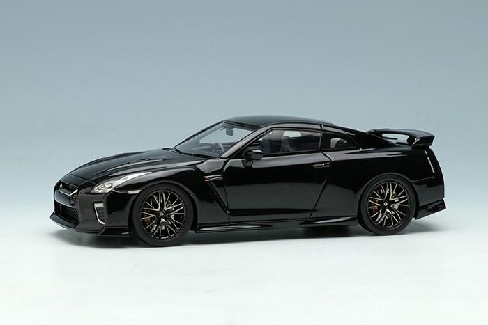 アイドロン 1/43 ニッサン GT-R 2020 ブラックパール【取寄対応】 完成品ミニカー EM463E