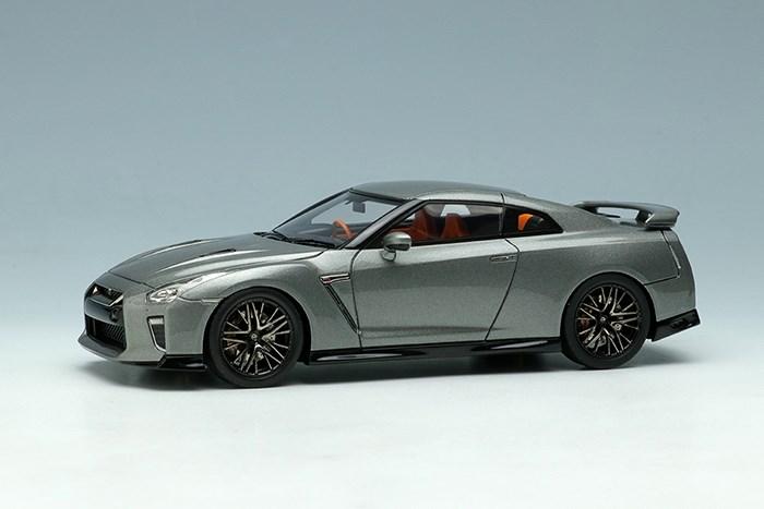 アイドロン 1/43 ニッサン GT-R 2020 ダークメタルグレー【取寄対応】 完成品ミニカー EM463F