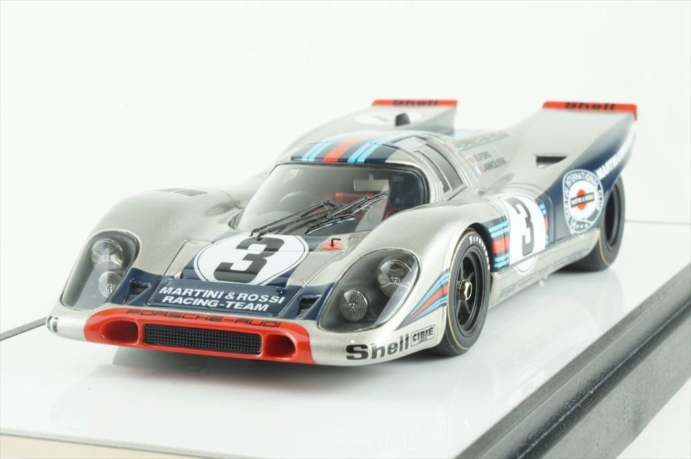 """ヴィジョン 1/43 ポルシェ 917K No.3 """"マルティニレーシングチーム"""" 1971 セブリング12時間 ウィナー【取寄対応】 完成品ミニカー VM038"""
