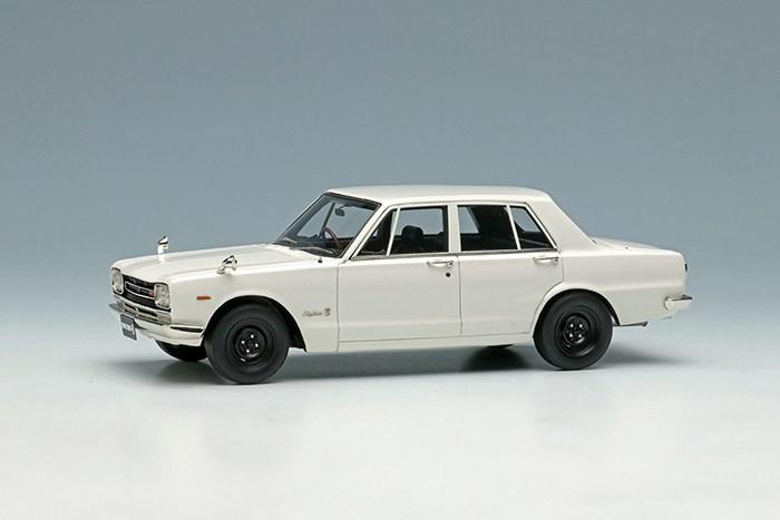 アイドロン 1/43 ニッサン スカイライン 2000 GT-R PGC10 1969 ホワイト【取寄対応】 完成品ミニカー EM392C