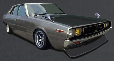 【予約】 イグニッションモデル 1/18 ニッサン スカイライン 2000 GT-X GC110 ガンメタリック 完成品ミニカー IG1981