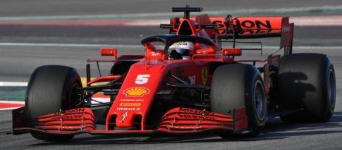 【予約】 ルックスマート 1/43 スクーデリア フェラーリ SF1000 No.5 2020 F1 バルセロナテスト S.ベッテル 完成品ミニカー LSF1027