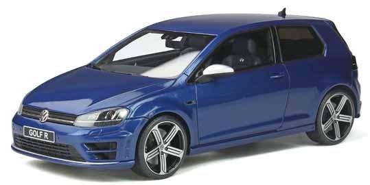 【予約】 オットーモビル 1/18 フォルクスワーゲン ゴルフ VII R ブルー 完成品ミニカー OTM333