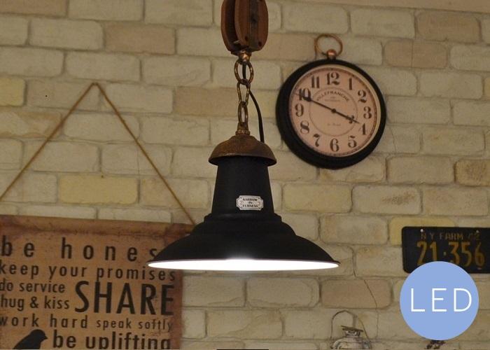 【ブルクBK1灯ペンダントライトLED電球付属】送料無料 LED対応 ナチュラル カフェ風 インテリア ペンダントライト 照明 LED対応 かわいい おしゃれ インダストリアル ブルックリン ダイニング インターフォルム 男前インテリア 照明器具