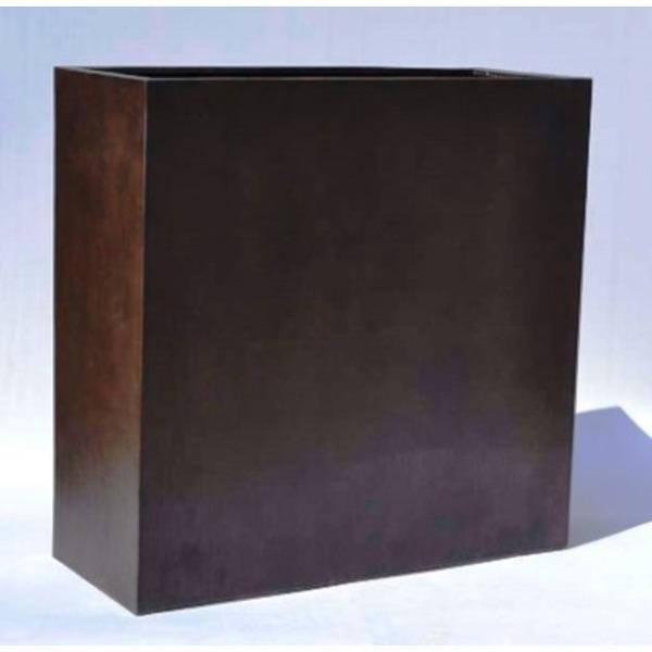 木目調樹脂製鉢カバー MOKU プランターボックス H100cm注文後キャンセル不可