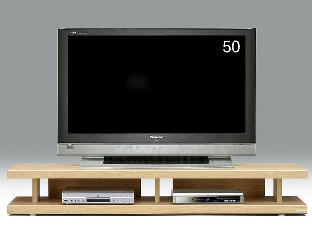 【送料無料】オープンボード 180テレビ台 妥協知らずロースタイルのテレビボードの視点 アフターフォローも安心な日本製 大川家具 リニアス180リビングボード(ナチュラル)北欧 おしゃれ かわいい