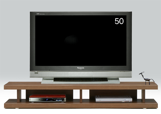 【送料無料】オープンボード 180テレビ台 妥協知らずロースタイルのテレビボードの視点 アフターフォローも安心な日本製 大川家具 リニアス180リビングボード(ブラウン)北欧 おしゃれ かわいい 【秋のインテリア収納】