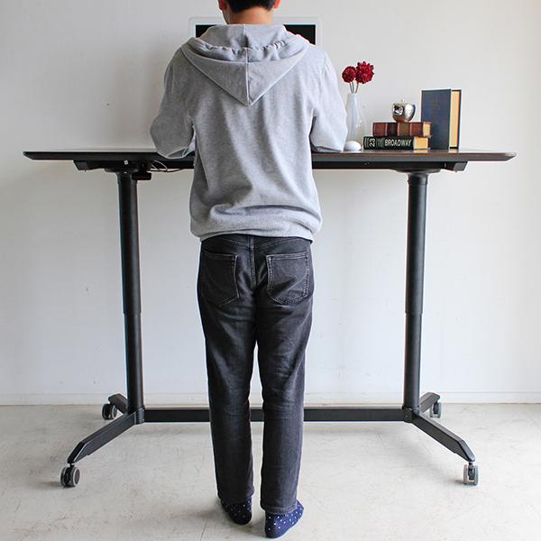 スタンディングテーブル 昇降テーブル 高さ調節 リフトテーブル デスク モーデ150スタンディングテーブル