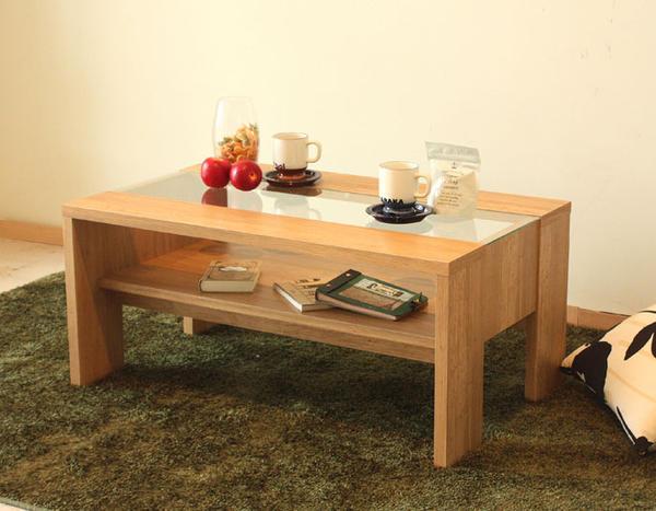 天然木リビングテーブル 送料無料 センターテーブル コーヒーテーブル カフェテーブル つくえ テーブル カフェ cafe オシャレ 人気 木製 シンプル グロース900リビングテーブル(ナチュラル)