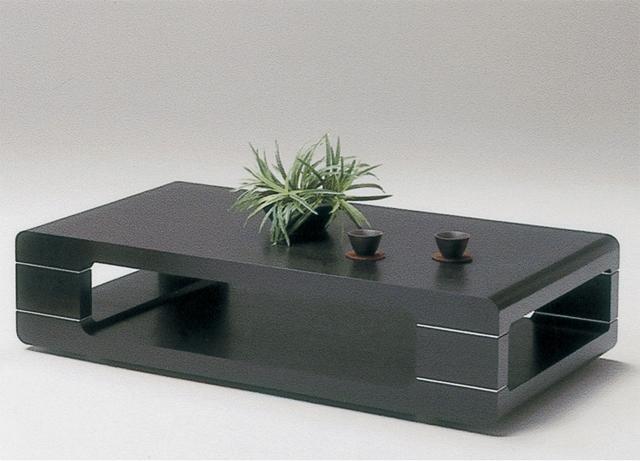 【どっしりとした重量感、高級感のある木製リビングテーブル】 木製テーブル ローテーブル センターテーブル 収納付き タモ モダン 802A1.2リビングテーブル