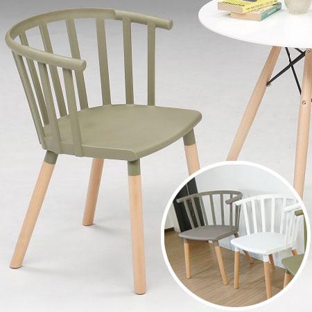 ダイニングチェア チェア チェアー イス 椅子 いす 北欧 木脚 ナチュラル 肘付き 肘かけ ウィンザー おしゃれ かわいい 食卓 ダイニング リナダイニングチェア(グレー/ホワイト/グリーン) 送料無料