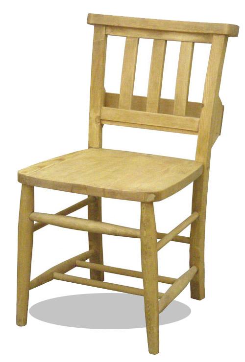 パイン材 チェア マガジンラック付き ダイニングチェア デスクチェア カントリー家具 ナチュラル AIROS JAPAN アイロスジャパン 【A002 chursh chair】