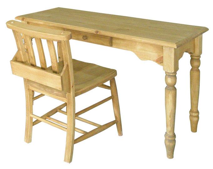 カントリーパイン材 120幅デスク&チェア2点セット! AIROS JAPAN アイロスジャパン 机と椅子の2点セットA302 table 1200&A002 chursh chair