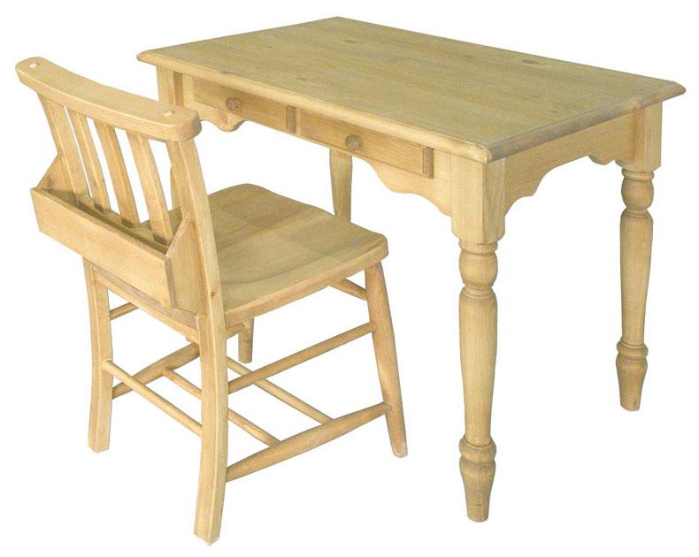 カントリーデスク&チェアの2点セット! AIROS JAPAN カントリーデスクチェア2点セットA303 table 900&A002 chursh chair