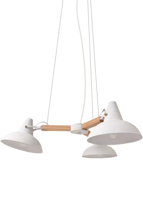 清潔感のある白いシェード ナチュラル アーム 北欧 【送料無料】北欧テイストのあたたかみのあるライト。リーセ ペンダントランプ -Riise pendant lamp- DI CLASSE(ディクラッセ)