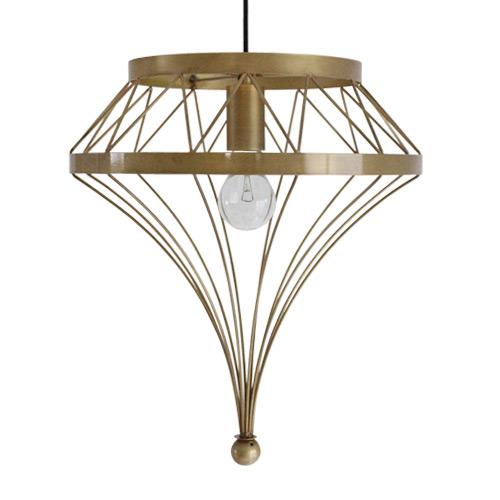 アイアンフレームのお洒落な照明 アンティーク スタツィオーネ ペンダントランプ デザイン照明器具のDI CLASSE(ディクラッセ)