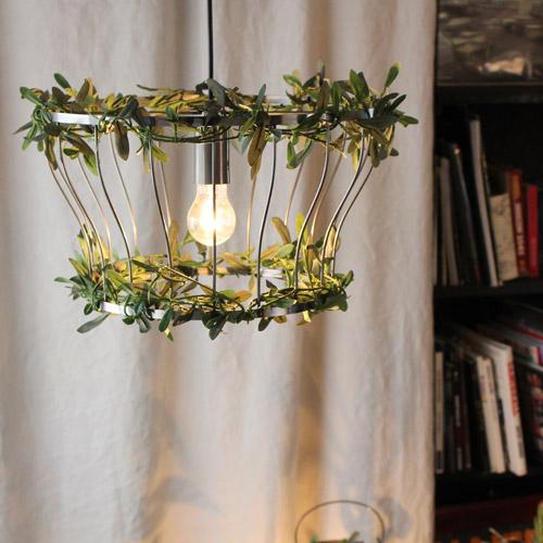 【お洒落デザイン照明】リビングやダイニング、寝室やワンルームにおしゃれな照明を。 アイアン リーフ フィッロ アイアン ペンダントランプ(Fillo Iron pendant lamp)