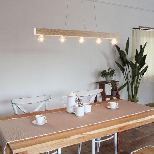 【お洒落デザイン照明】美しいバーチの木目を重ね合せた お洒落なデザイン照明 リビングやダイニングにおしゃれな照明を。 デザインのランプ シンプル ナチュラルキャニオン ペンダントランプ(Canyon pendant lamp)
