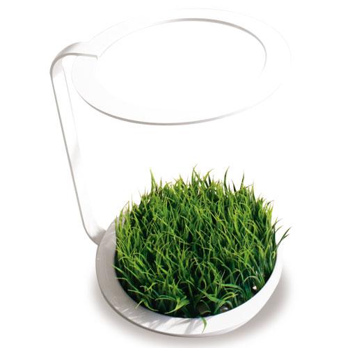 人工草を使用しているのでお手入れ簡単 小物 インテリア雑貨 緑がよく映えるホワイトとこちらは存在感のあるブラック2色対応g-アンブレラ スタンド 雑貨