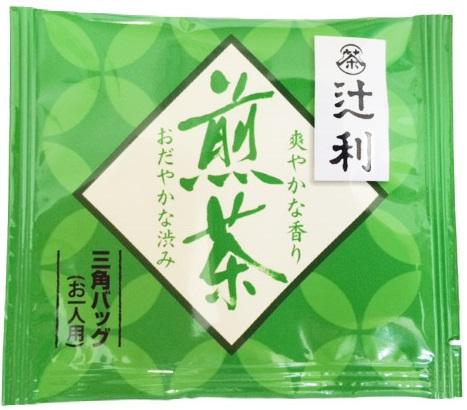 煎茶緑茶日本茶辻利京都宇治三角バッグタイプ800個セット業務用