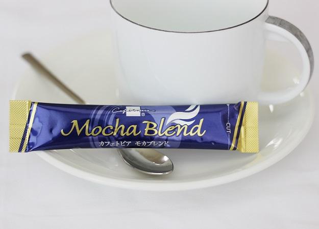 カフェトピアスティックコーヒー珈琲モカブレンドインスタントコーヒーお買い得1000個パックエチオピアコーヒー豆芳醇な香りホッと一息おいしい珈琲送料無料送料込み