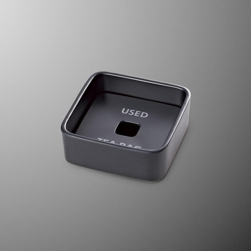 国際化工 ティーバッグボックス 目皿付 M720EB 88×88×36mm 超安い ゆらぎ ショッピング ブラック