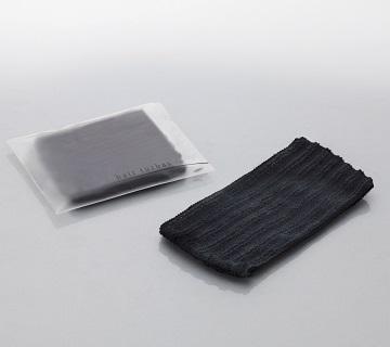 ヘアターバン AXIS 幅70mm洗顔用 メイク用ターバン 黒色 1600個