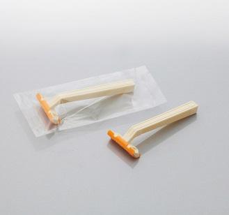 カミソリ アメニティロード2 固定式2枚刃2000本 透明OP袋入 ダイト