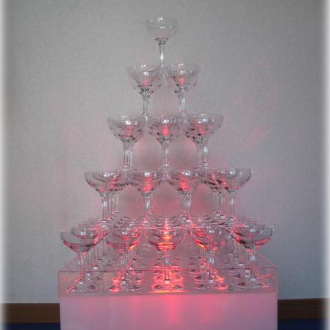 【人気商品!】 プラスチックトライタンシャンパングラス シャンパンタワー6段グラスセット (グラスのみ)クリアー:ポタリーN, TPOS:61346e3b --- nagari.or.id