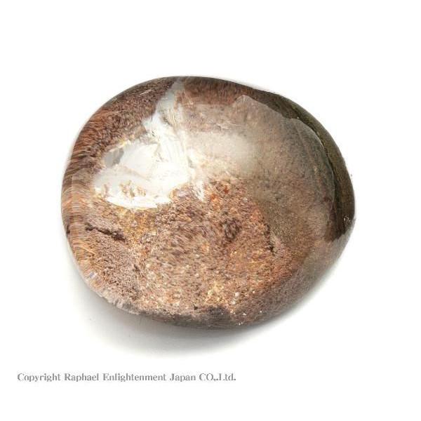 【稀少☆珍品!大自然のロマン♪】ガーデンクォーツ・レンズ型原石