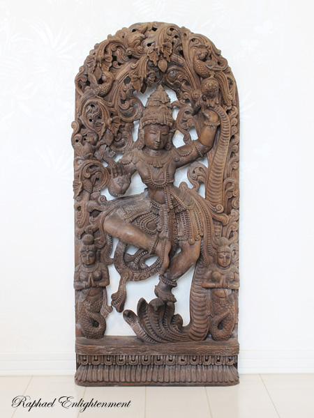 限定1体【家内安全・世界平和の守り神に!!】超特大☆ヴィシュヌ神仏像(仏像)